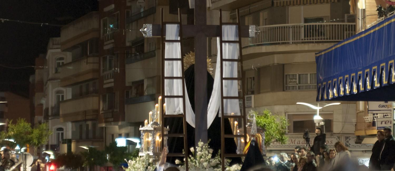 Foto del paso de la Virgen de las Penas