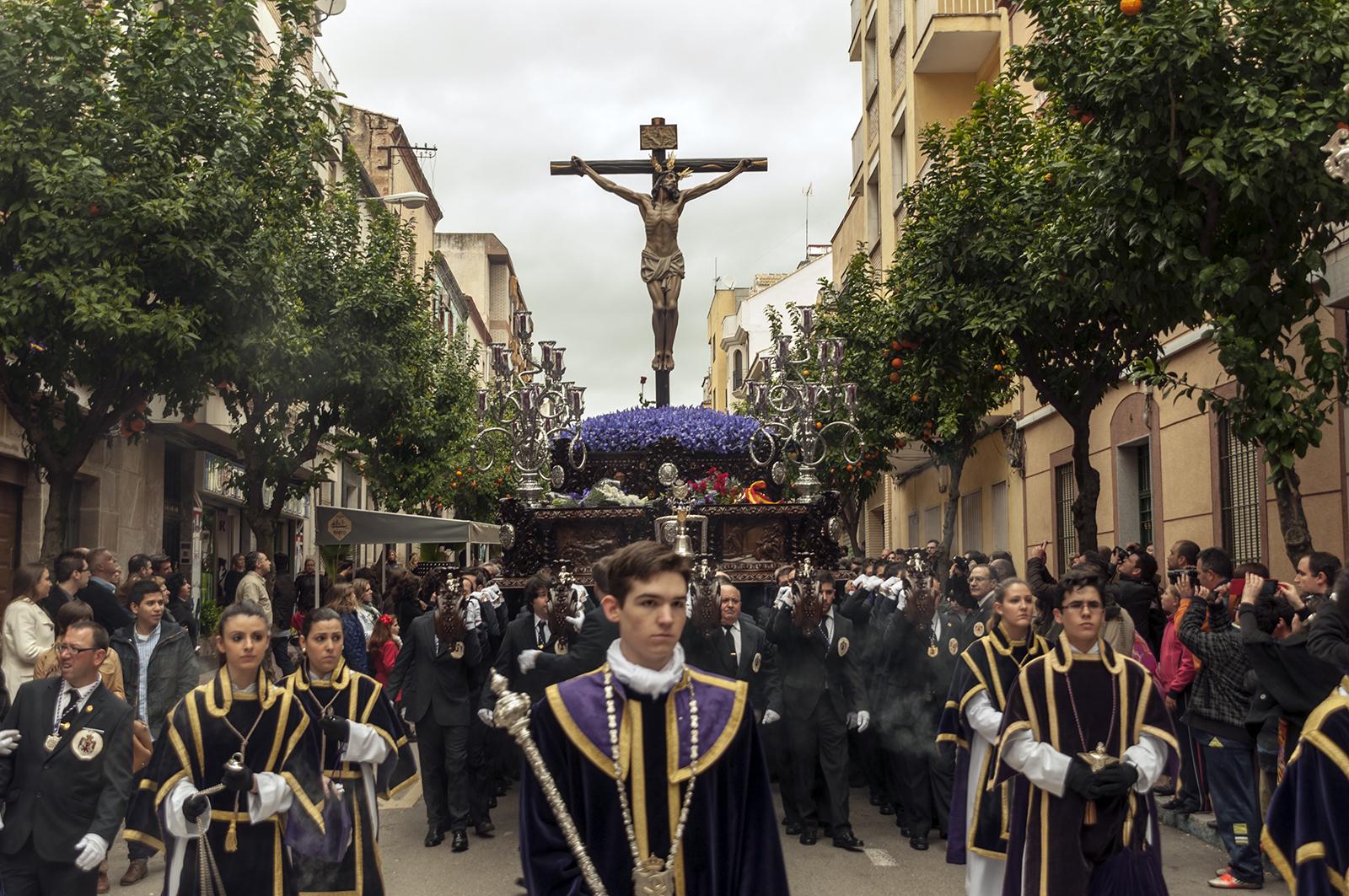 Foto del trono del Santísimo Cristo de la Expiración