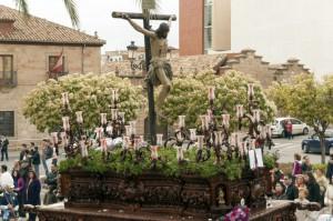 Foto del paso de Cristo Crucificado de la Hermandad de la Buena Muerte