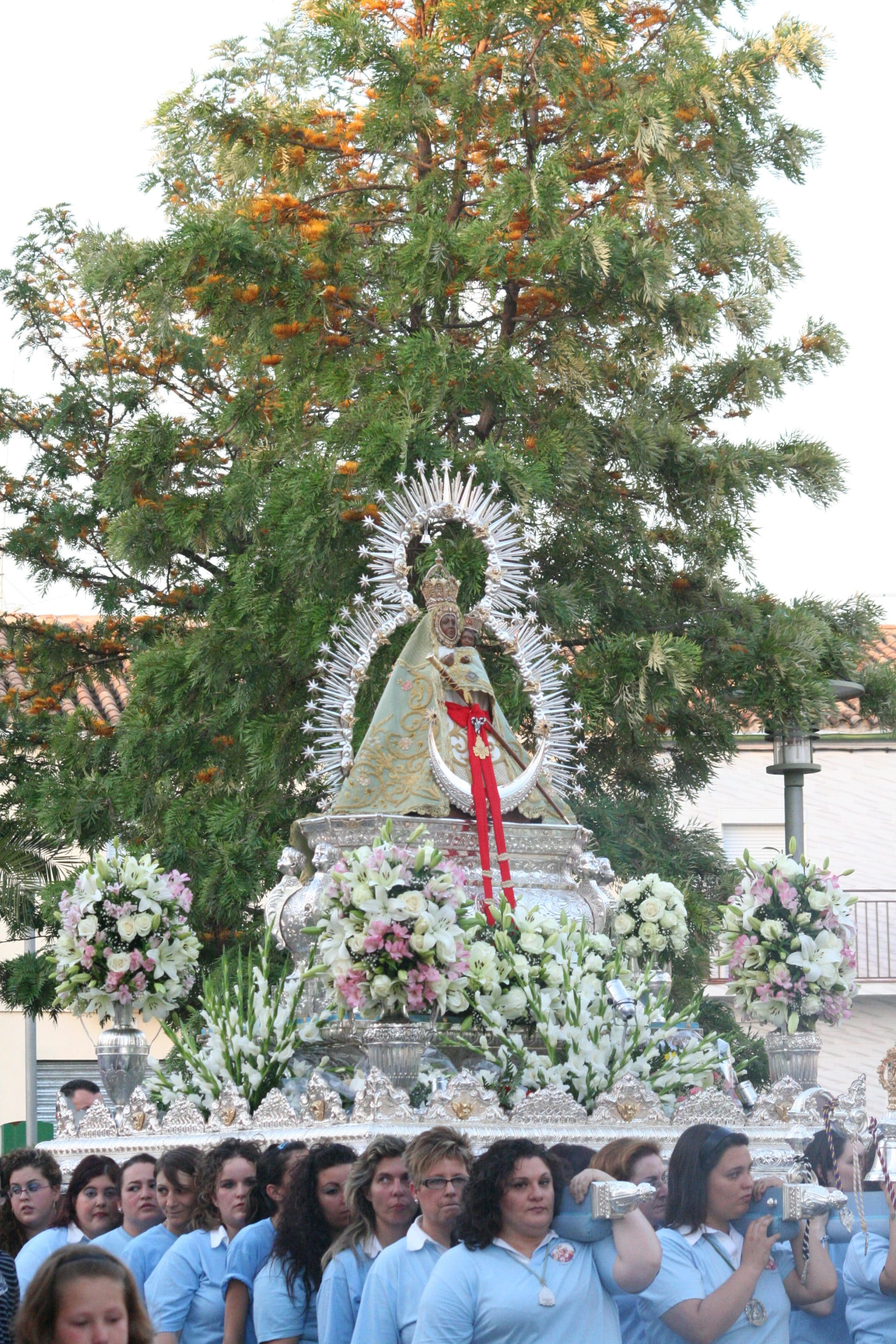 Foto de la Virgen de la Cabeza