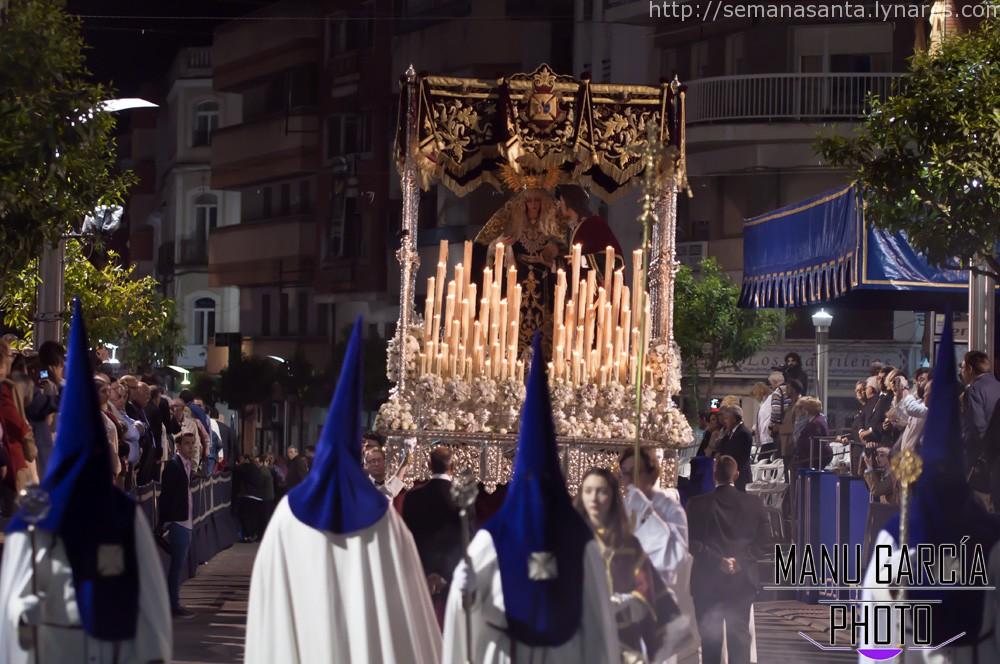 La Semana Santa de Linares 2015 por Manu García.