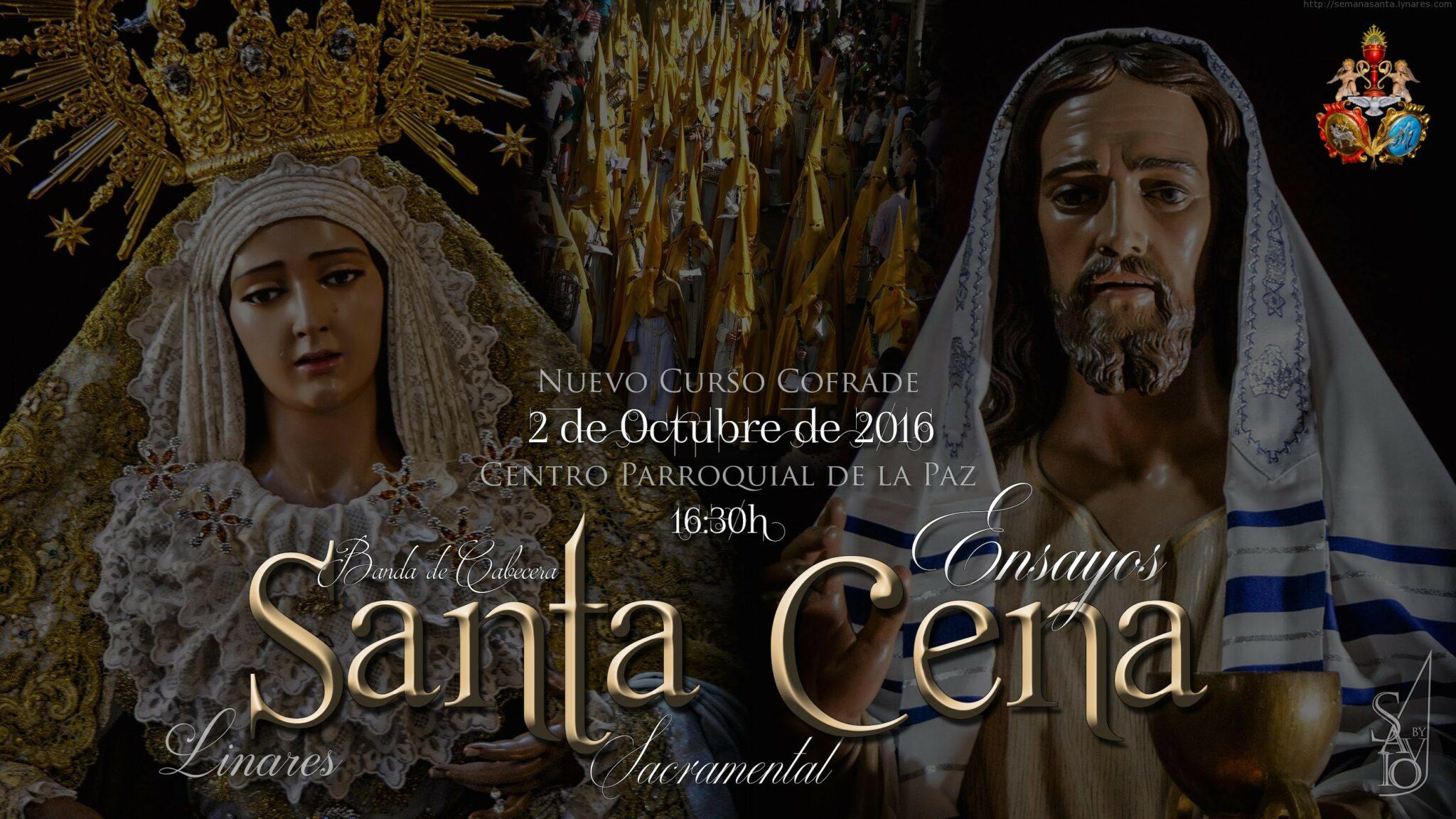 "Promo Inicio Ensayos Banda de Cabecera ""Santa Cena Sacramental"" | Linares 2016-by Savio"