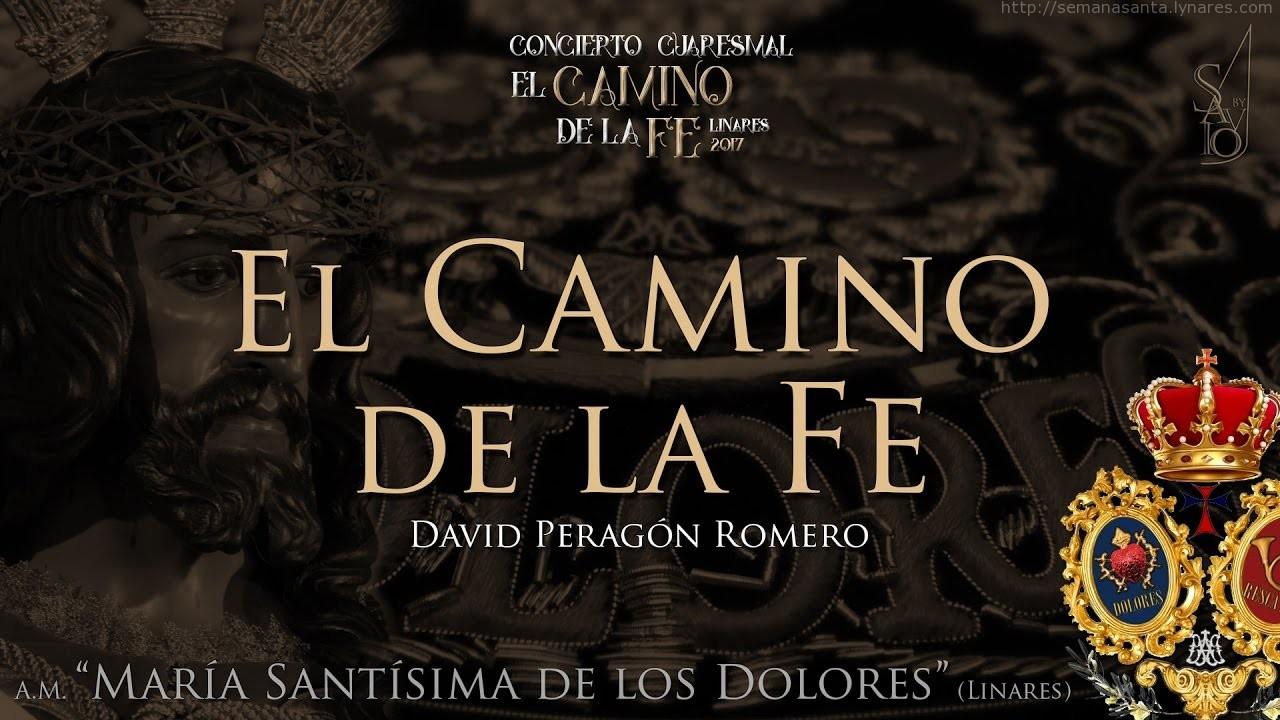 """Vídeo de A. M. Dolores de Linares estrenando la marcha """"El Camino de la Fe"""" de David Peragón Romero."""