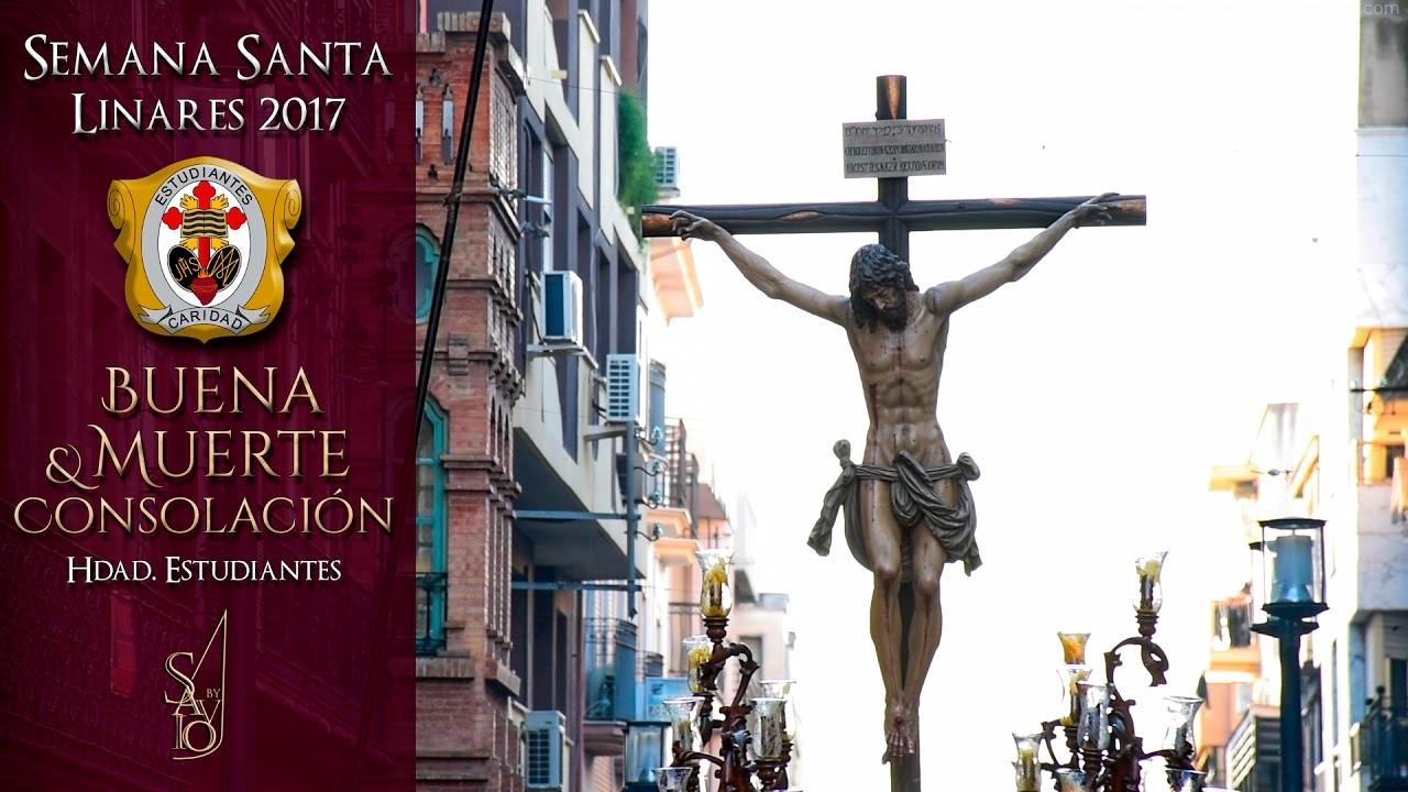Buena Muerte y Consolación (Hdad. Estudiantes) | Semana Santa Linares 2017 | by Savio
