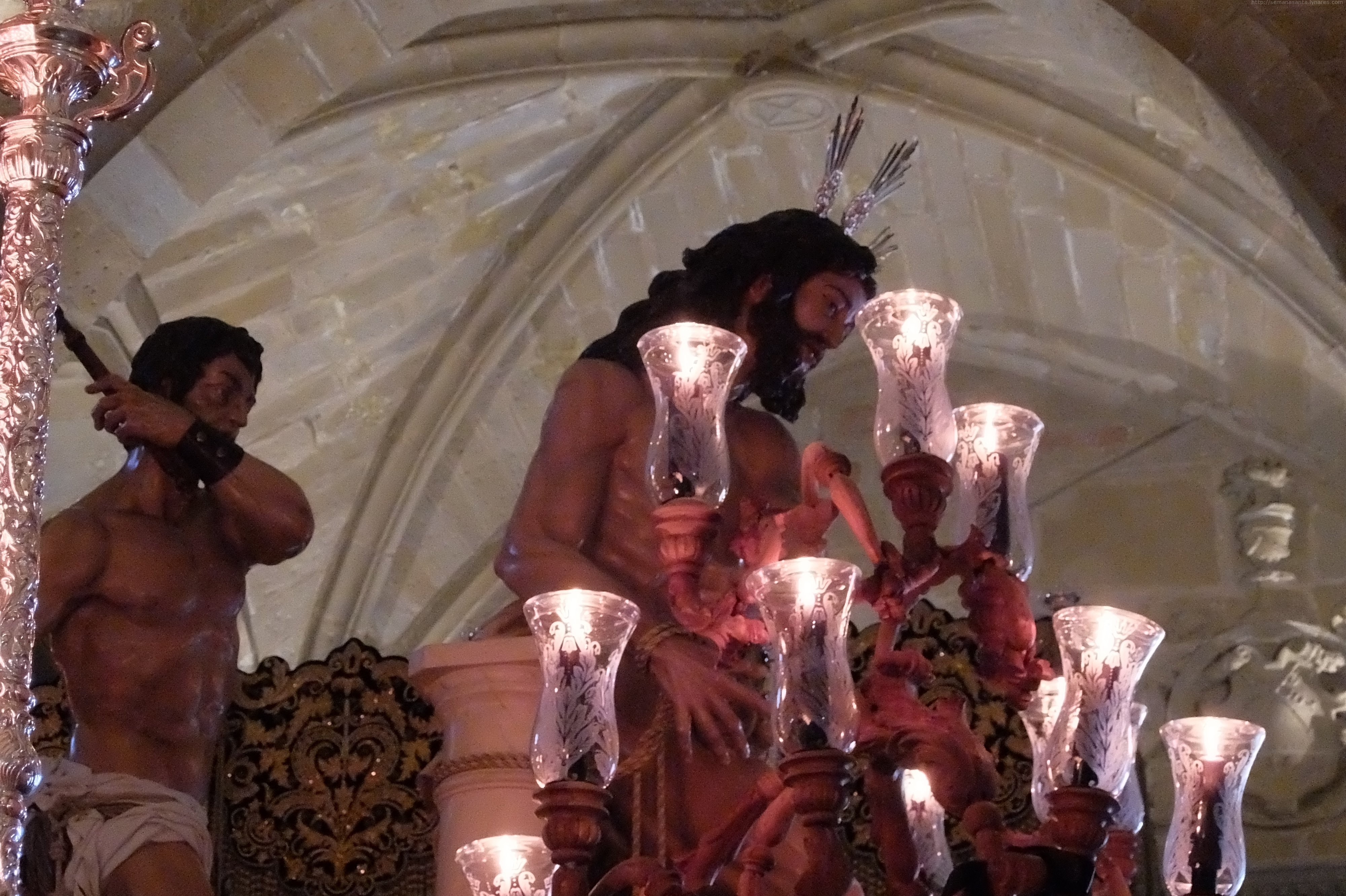 Jueves Santo Linares 2019 - Columna y Amargura