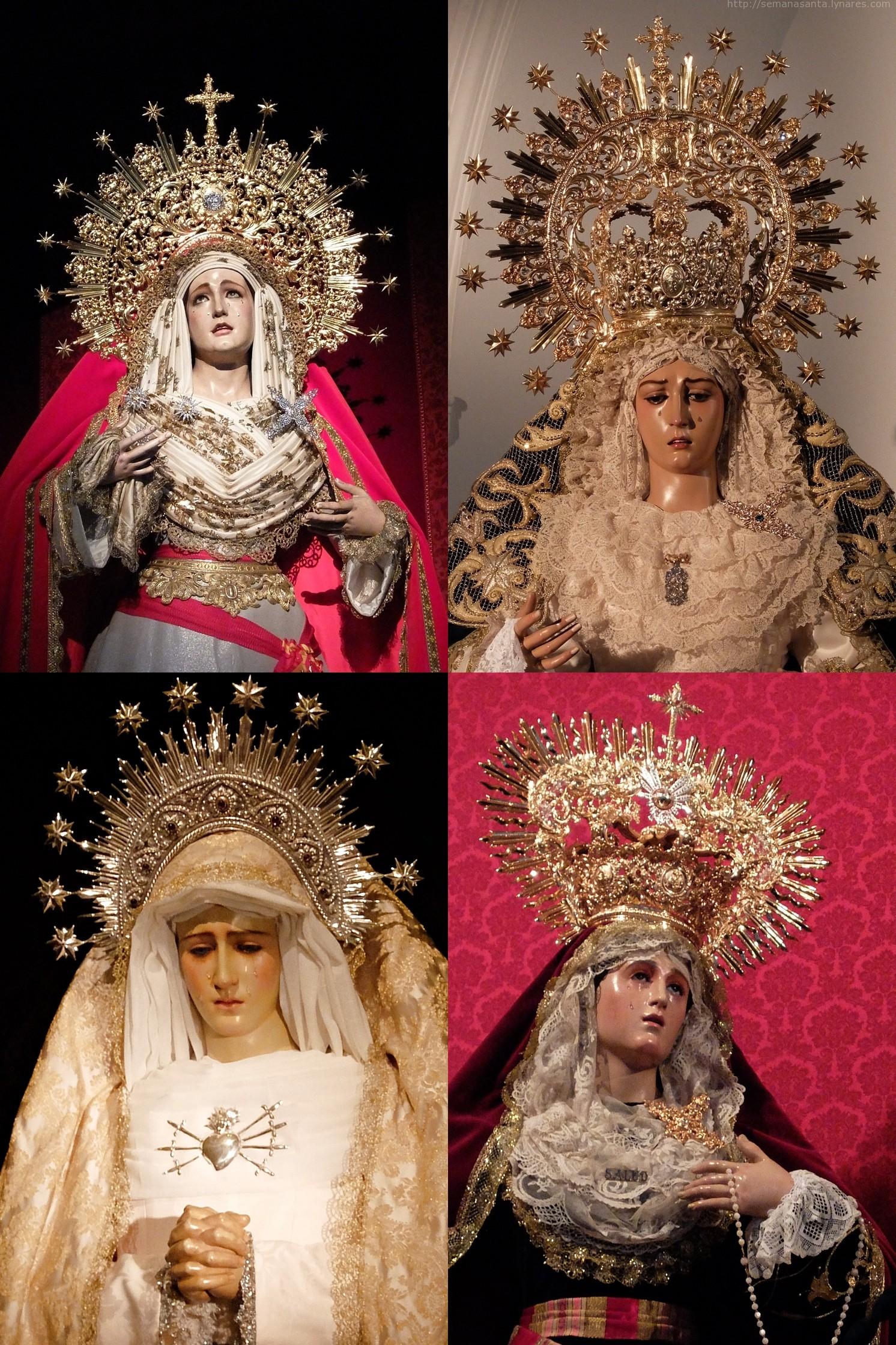 Oración a las advocaciones marianas de Linares.